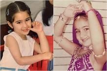 Happy Birthday Sara Ali Khan: 5 Adorable Childhood Pics of the Actress