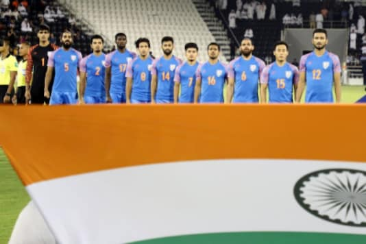 Indian men's football team. (Photo Credit: @IndianFootball)