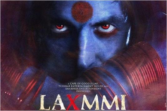 'Laxmmi Bomb' poster featuring Akshay Kumar