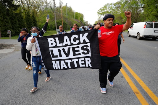 Black Lives Matter protest in the United States. (For representation)
