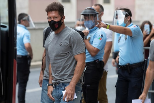 Atletico Madrid coach Diego Simeone (Photo Credit: AP)