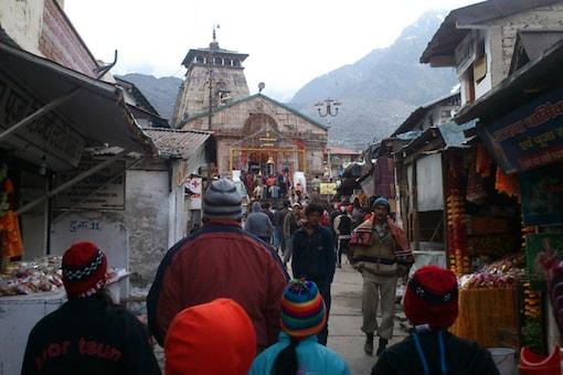 File photo of Kedarnath Temple.