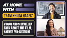 Vidyut Jammwal And Shivaleeka Oberoi On Khuda Haafiz, Shooting In Tough Conditions and Fan Questions