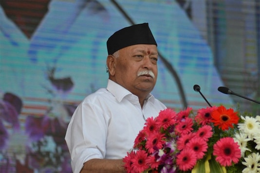 Sources say Bhagwat wants to set up at least one shakha (daily congregation) in each of the 341 Blocks in West Bengal. (File photo)