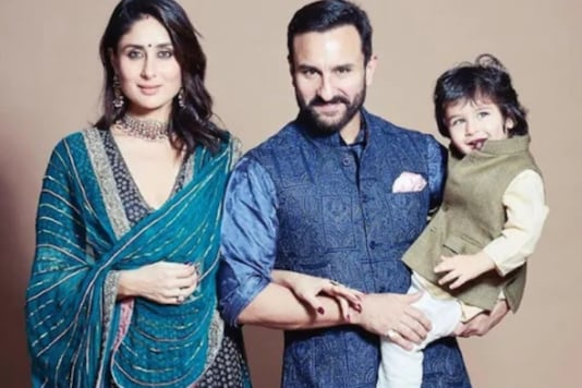 Kareena Kapoor with Saif Ali Khan and Taimur. (courtesy: therealkareenakapoor)