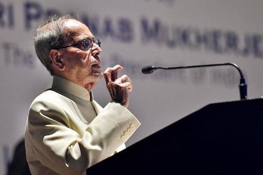 File photo of former president Pranab Mukherjee. (PTI)