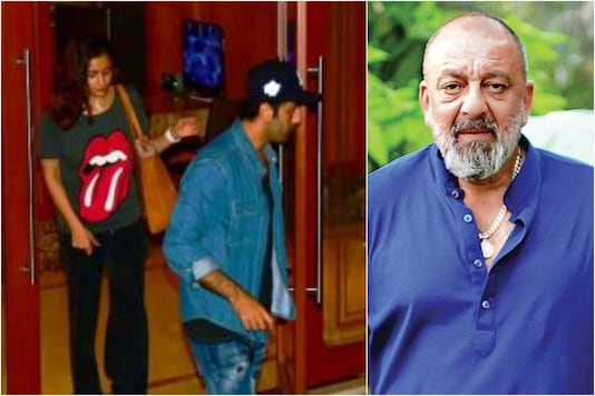 Alia Bhatt, Ranbir Kapoor Pay Visit to Sanjay Dutt After He Announced Break for Medical Treatment