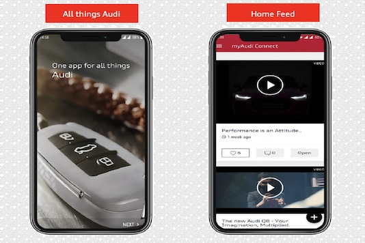 Audi India Introduces Enhanced 'myAudi Connnect' App for Customers and Potential Buyers