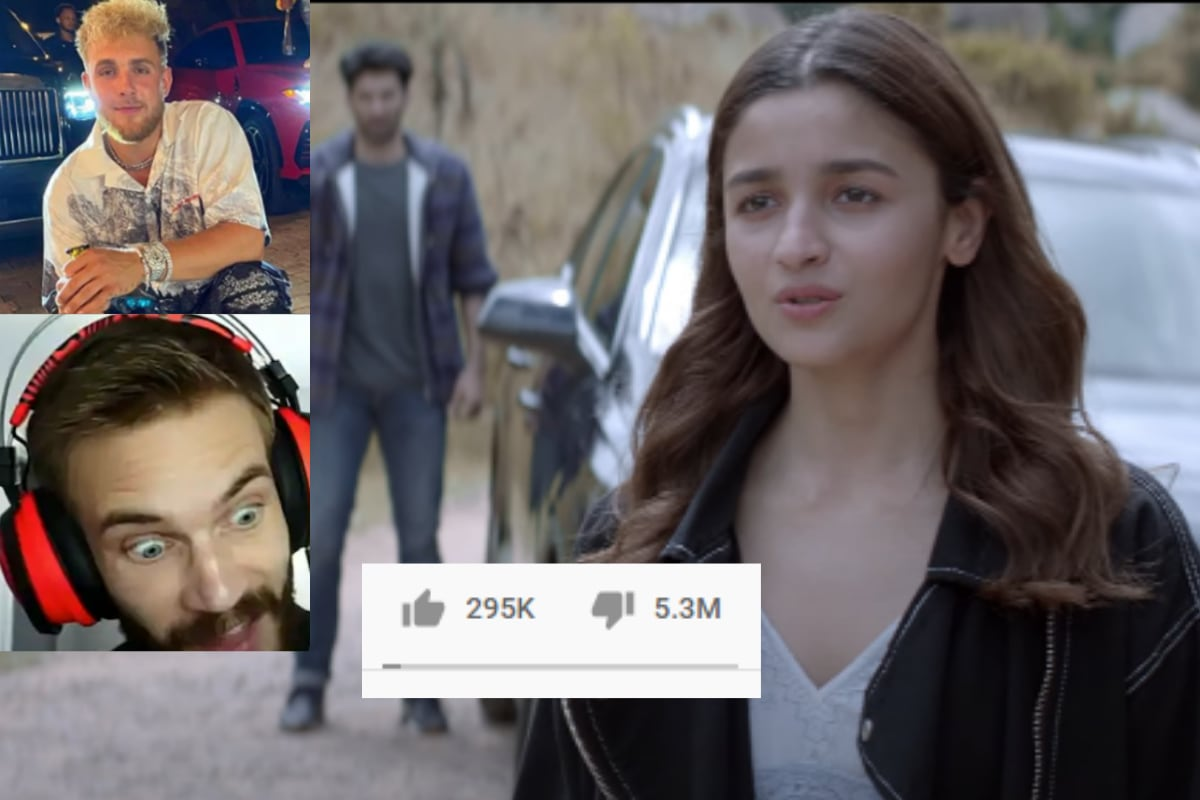'Sadak 2' Beats Jake Paul and PewDiePie to Become the Most Disliked YouTube Video in India
