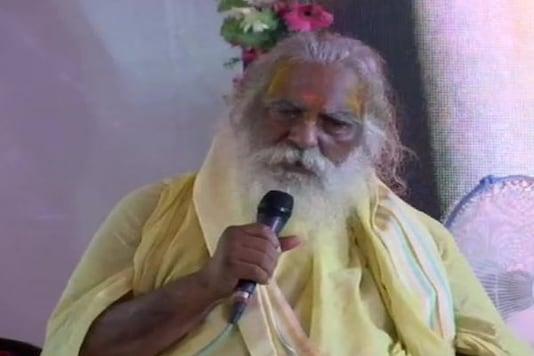 Ram Janmabhoomi Trust chief Mahant Nritya Gopal Das (Photo: ANI/Twitter)