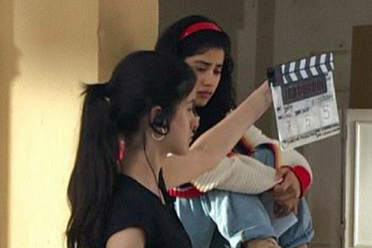 Shanaya Kapoor Forays Into Films as Assistant Director in Gunjan Saxena, See Pic