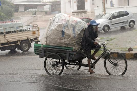 File photo of rainfall.
