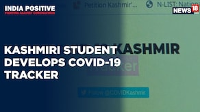India Positive: Kashmiri Student Develops COVID 19 Tracker