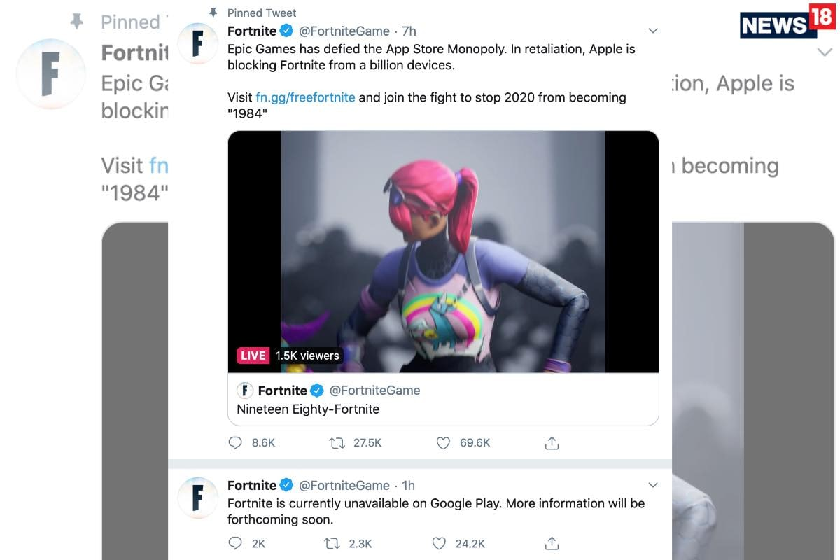 Apple Makes It Clear To Epic Games There Will Be Absolutely No Exceptions For Fortnite