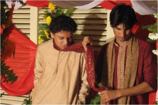 Sushant Singh Rajput and Vishal Kirti