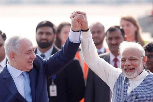File photo: Prime Minister Narendra Modi with his Israeli counterpart Benjamin Netanyahu.  (Image: Reuters)