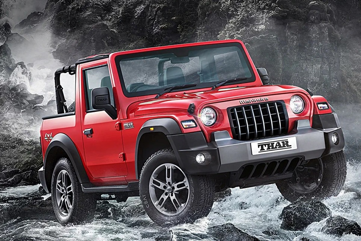 All New Mahindra Thar 4x4 Unveiled In India Gets Modern Design And Safety Features