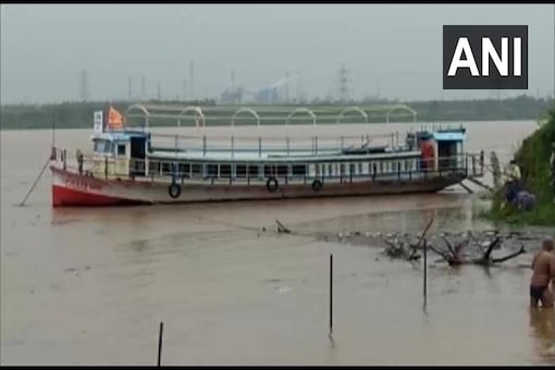The State Disaster Management Authority said heavy to very heavy rainfall was likely at isolated places in Visakhapatnam, East and West Godavari districts in the next 48 hours. (Credit: ANI/Twitter)
