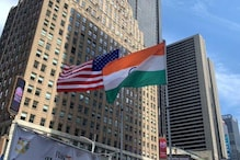 Indian Tricolour Hoisted for First Time at New York's Times Square in Historic Celebration of Independence Day