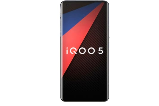File photo of an IQOO 5 smartphone.