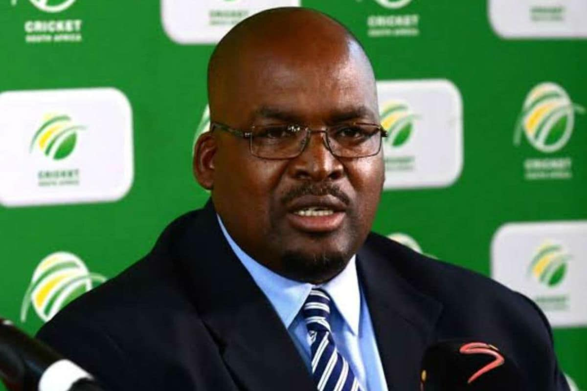 Cricket South Africa President Chris Nenzani Resigns with Immediate Effect