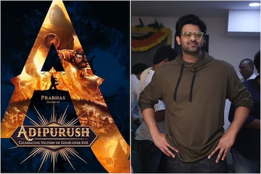 'Adipurush' poster (L)