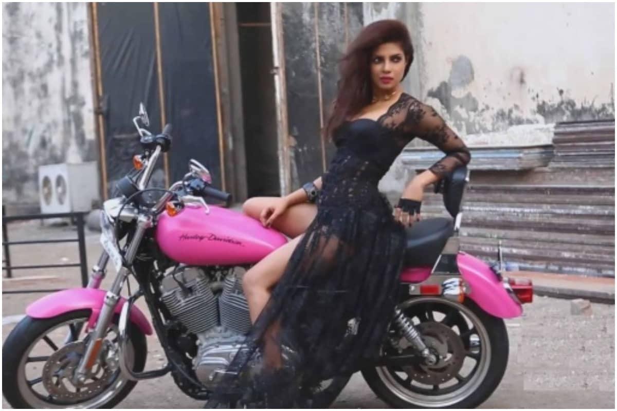Priyanka Chopra Owns Pink Harley Davidson Motorbike and Its Price Will Leave You Speechless