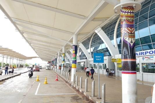 File photo of Goa airport. (Image Source: Twitter/@aaigoaairport)