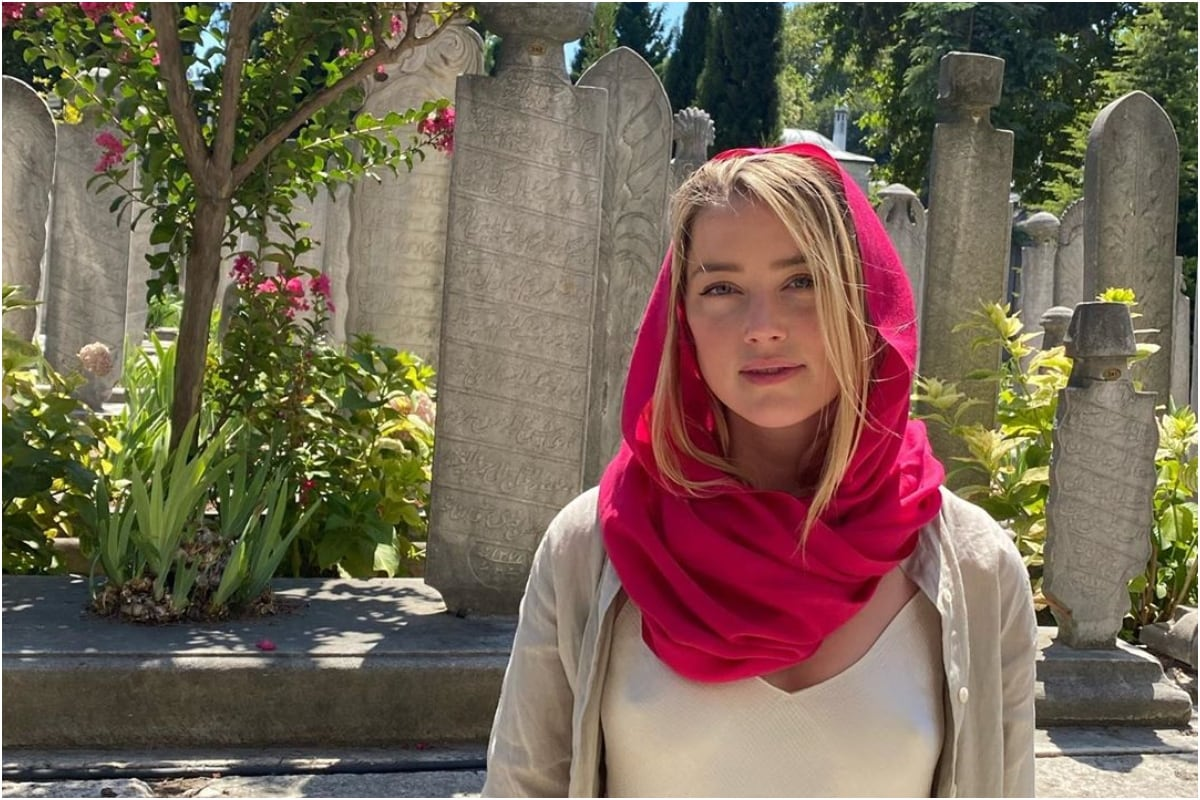 Amber Heard on Backlash Over 'Inappropriate Clothing' in Mosque: Whoever Paid for This, Didn't Pay Enough