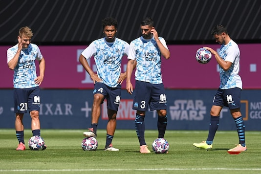 Image from Marseille training. (Photo Credit: Reuters)