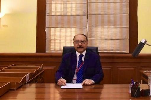 File photo of Foreign Secretary Harsh Vardhan Shringla