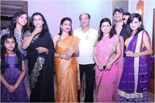 Sushant Singh and Rajput Family
