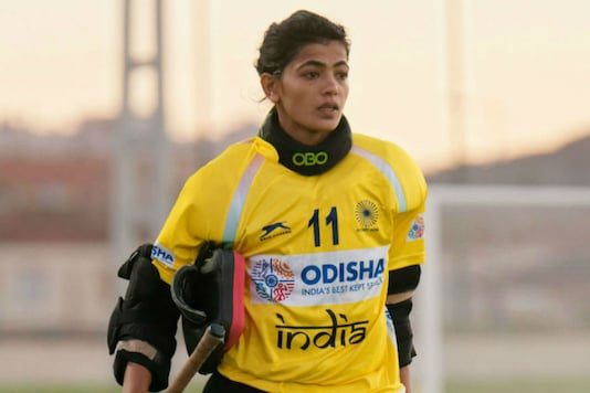 Indian women's hockey team goalkeeper Savita.