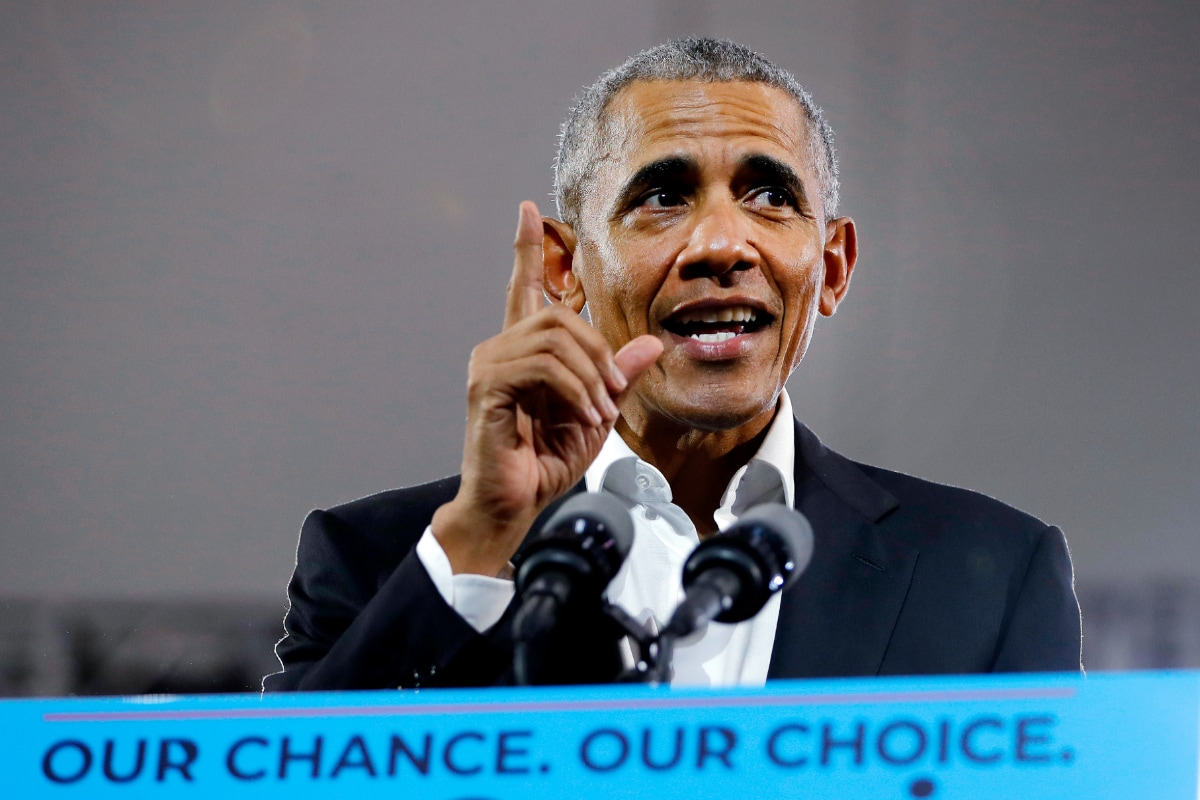Trump Incapable of Taking the Job Seriously, Says Obama as He Warns Against Complacency Over Biden Poll Lead