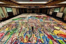 World's Biggest Canvas Painting, Size of Two Football Fields To Be Auctioned For Charity