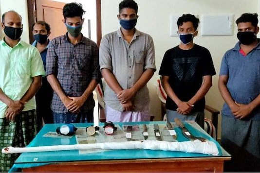 Around six men have been arrested for butchering a pregnant buffalo in Kerala. Photo: News18