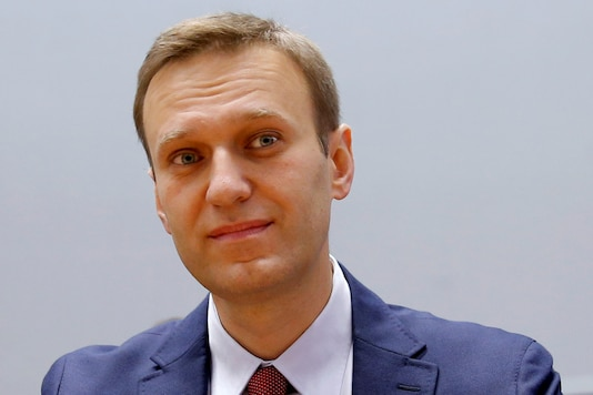 A file photo of Russian opposition leader Alexei Navalny. (Reuters)