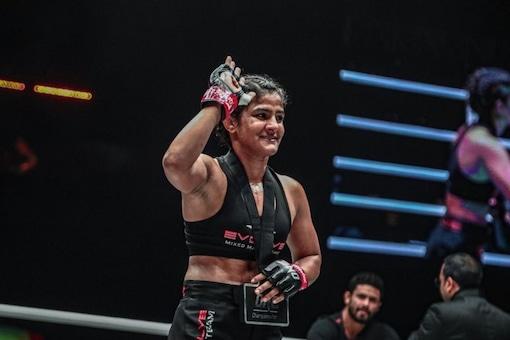 I want to help build MMA in India, says Ritu Phogat  (Image: Twitter/@PhogatRitu)