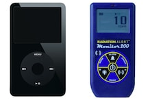 Apple iPod's Real-Life James Bond Makeover Made It a Geiger Counter for Spies