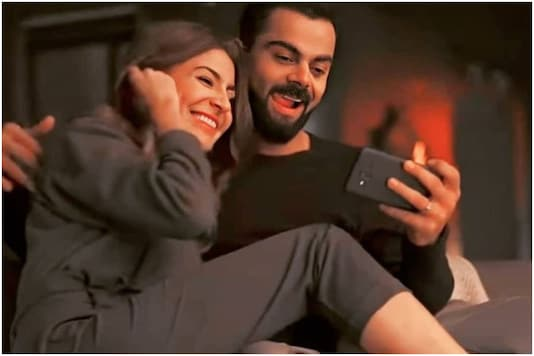This Candid from Anushka Sharma and Virat Kohli's Ad Shoot will Make You Go Awww