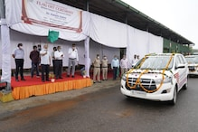 Delhi Transport Minister Kailash Gahlot Flags off 30 New Vehicles for Enforcement Wing
