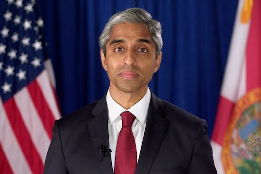 Former Surgeon General of the United States Dr Vivek Murthy. (Image: Reuters/FIle)
