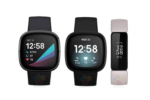 Fitbit Versa 3, Inspire 2, Sense Fitness Trackers Leak in Press Renders, Launch Imminent