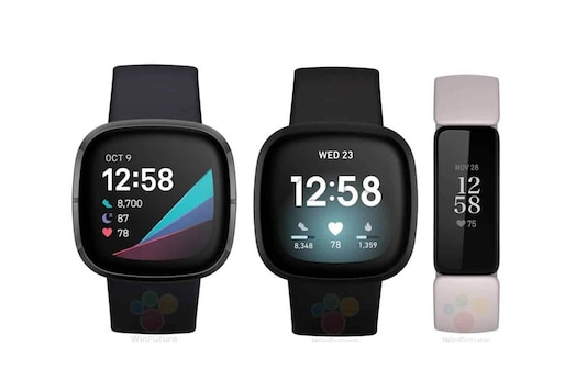 Fitbit Versa 3, Inspire 2, Sense Fitness Trackers Leak in Press Renders, Launch Imminent
