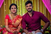 PICS: Vijay Shankar Gets Engaged To Vaishali Visweswaran