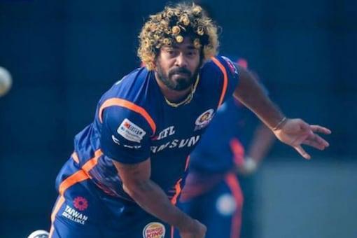 Lasith Malinga in training with Mumbai Indians in 2019 (Image: IPL)