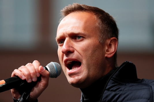 Russian opposition leader Alexei Navalny delivers a speech during a rally to demand the release of jailed protesters, detained during opposition demonstrations for fair elections, in Moscow, Russia September 29, 2019. (Image: Reuters/File)