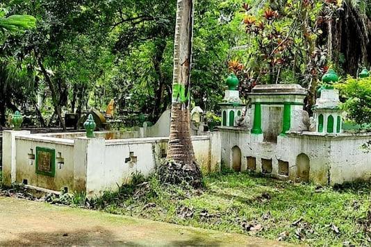 Athgaon Kabarsthan in Guwahati, Assam. (News18)