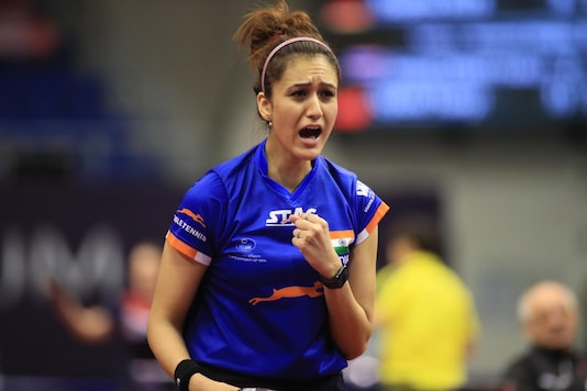 Manika Batra was ecstatic to have won the Khel Ratna. (Photo Credit: @ittfworld)