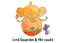 This Ganesh Chaturthi, Know the Story of Lord Ganesha & the Snake